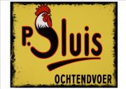 Sluis Bird Food Sign