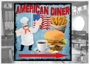 American Diner Sign