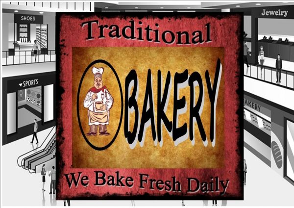 Bakery Bakers Shop Sign