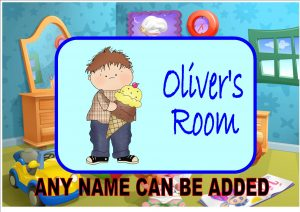 Child's Bedroom Door Plaque