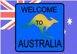 Australian Style Novelty Road Sign