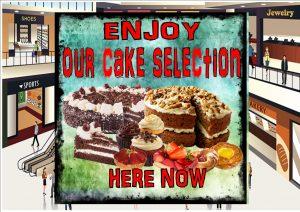 Cake Shop Sign