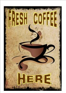 Coffee Advertising Sign