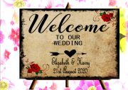 Wedding Day Sign