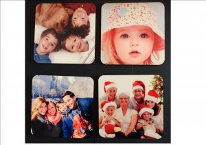 Personal Photo Drinks Coaster