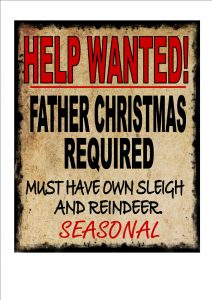Father Christmas Wanted