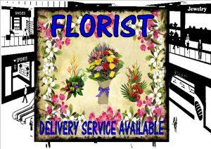 Florist Shop Sign
