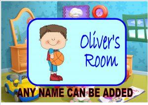 Children's Bedroom Door Plaque