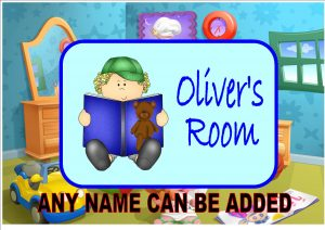 Childrens Boy Room Plaque