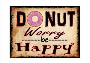 Donut Advertising Sign
