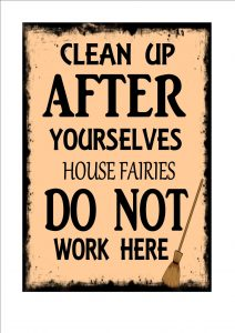 Funny Kitchen Wall Plaque