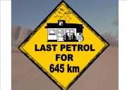 Australian Style Fun Road Sign