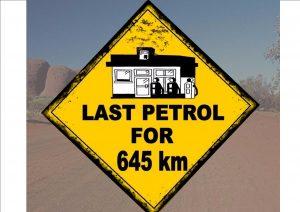 Australian Style Fun Road Sign