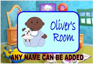 Children's Bedroom Door Plaque