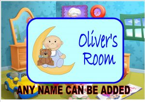 Personalised Children's Door Plaques And Nursery Signs (Boys)