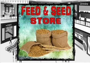 Feed & Seed Store Sign