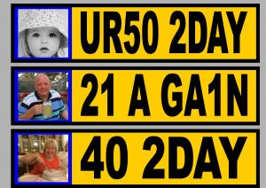 Own Photo Personalised Number Plates