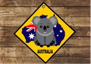 Novelty Australia Sign