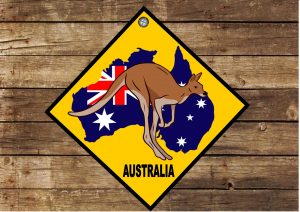 Fun Novelty Australian Sign