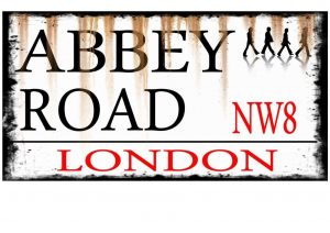 Abbey Road Beatles Sign