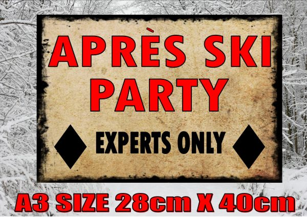 Apres Ski Sign