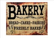 Vintage Bakery Shop Sign