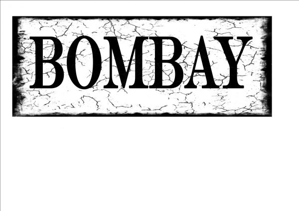 Bombay City Sign