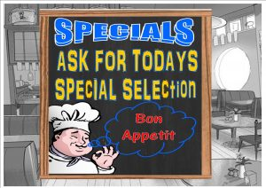 Bon Appetit Cafe Sign Wall Plaque