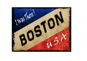 Vintage Boston Sign
