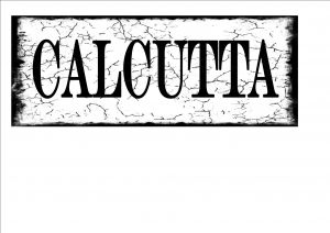 Calcutta City Sign