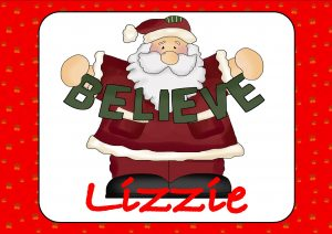 Father Christmas Believe