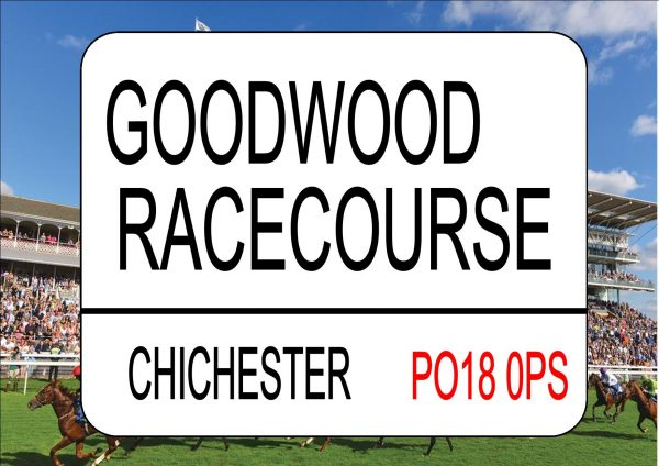 GOODWOOD Racecourse Sign