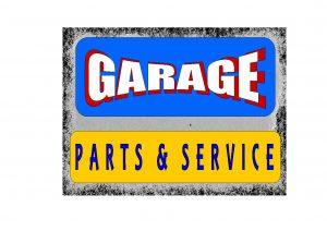 Garage Services Sign