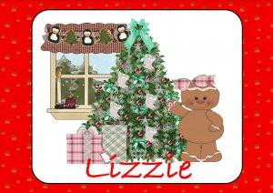 Ginger Bread Man & Christmas Tree
