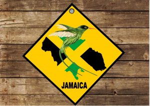 JAMAICAN Welcome Sign