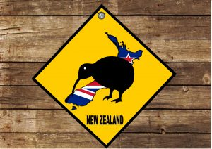 NEW ZEALAND HANGING SIGN