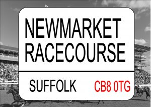 NEWMARKET Racecourse Sign