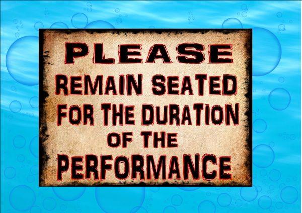 Novelty Bathroom Restroom Sign
