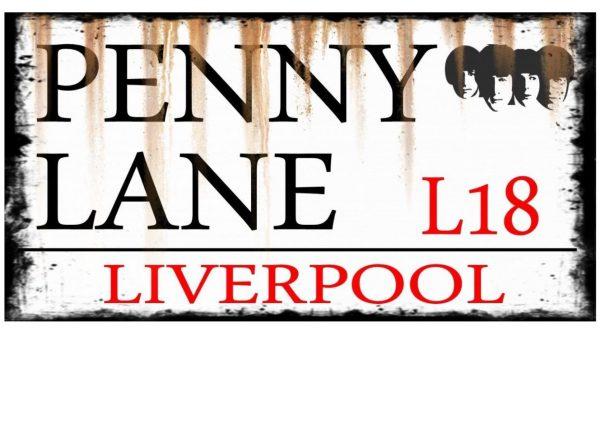 Penny Lane Street Sign