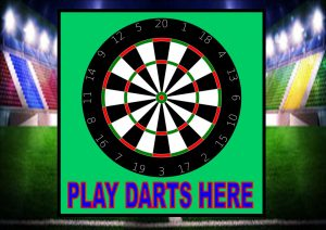 Play Darts Here Sign