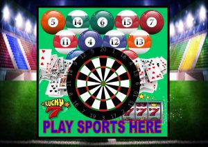 Play Sports Here Sign