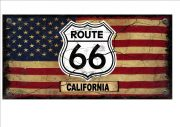 ROUTE 66 CALIFORNIA SIGN