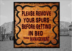 Remove Spurs Sign