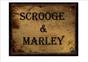 SCROOGE SIGN