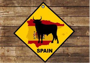 Hanging Novelty Spanish Sign