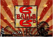 Six Balls Fairground Sign