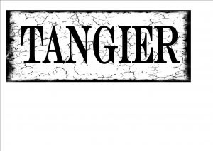 Tangiers City Sign