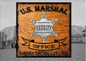 U.S. Marshal Office Sign