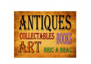 antiques Bric a Brac Shop Sign