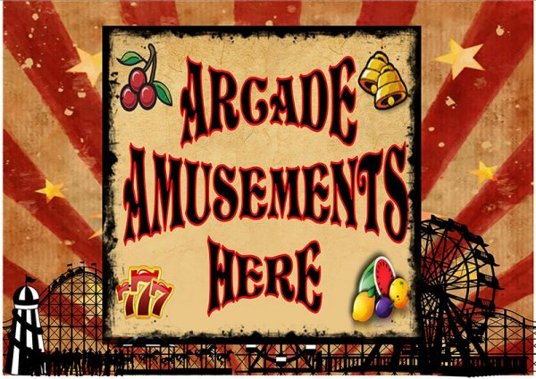 Arcade Amusements Here